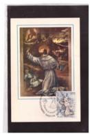TEM11188   -  ASSISI   6.1.1982    /    FDC VIII CENTENARIO NASCITA S.FRANCESCO - Cristianesimo