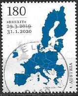 Autriche 2019 Timbre Oblitéré Brexit - 2011-... Used
