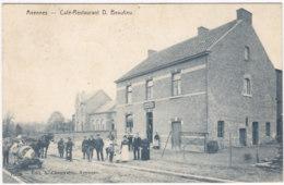AVENNES CAFE RESTAURANT D.BEAULIEU ANIMATION - Belgique