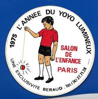 A.C. 1975 L'année Du YOYO SALON De L'ENFANCE PARIS - Pegatinas
