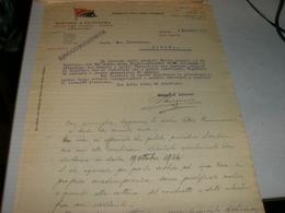 DOCUMENTO DITTA MASCARDI E ASTRONOMO ARMATORI GENOVA 1926 - Italia