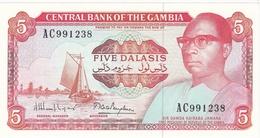BILLET 5 DALASIS BANQUE CENTRALE DE GAMBIE - Gambia