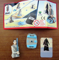 STAR WARS SORPRESA KINDER PRINCIPESSA LEIA MERENDINE KINDER SE767B + BPZ SORPRESINA - Cartoons