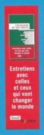 Marque Page  Seuil éditions.   L'écologie Du XXIème Siècle.    Bookmark. - Marque-Pages