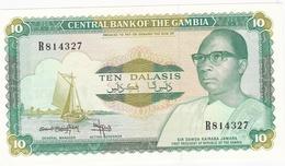 BILLET10 DALASIS BANQUE CENTRALE DE GAMBIE - Gambia