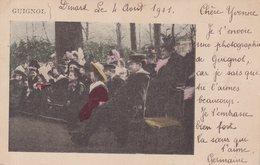 GUIGNOL : CP Colorisée .1901 . - Celebrità
