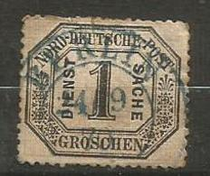 North Germany - 1870 Official 1gr Used - North German Conf.