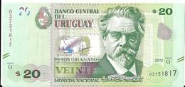 Uruguay - 20 Pesos 2015 - Série G- N° 03731817 - Neuf, Non Circulé - - Uruguay