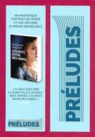 Marque Page  Préludes éditions.    Bookmark. - Marque-Pages