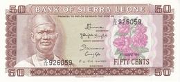BILLET 50 CENTS  BANQUE DE SIERRA LEONE - Sierra Leone