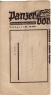 Streifband Panzer Voran - Frontzeitung Einer Panzerarmee Im Osten - 1939-45