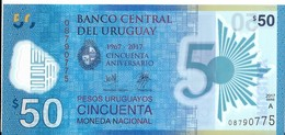 Uruguay - 50 Pesos 2017 - Série A - N° 08790775 - Neuf Avec Légère Pliure - - Uruguay