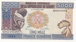 BILLET 5000 GUINEENS  BANQUE CENTRALE DE LA REPUBLIQUE DE GUINEE - Guinee
