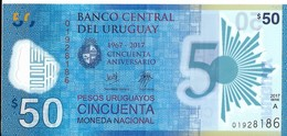Uruguay - 50 Pesos 2017 - Série A - N° 01928186 - Neuf Avec Légère Pliure - - Uruguay