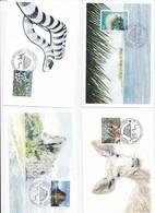 CM DE NOUVELLE-CALEDONIE DE 2011 - TOURISME - Cartes-maximum