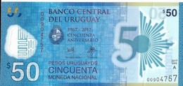 Uruguay - 50 Pesos 2017 - Série A - N° 00904757 - Neuf Avec Légère Pliure - - Uruguay