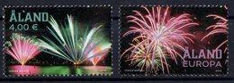 Aland 2018. Fireworks.  MNH - Aland