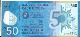 Uruguay - 50 Pesos 2017 - Série A - N° 00405312 - Neuf Avec Légère Pliure - - Uruguay