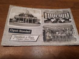 "Postcard - Germany, Frankfurt, ""Opel-Rondell""    (28835) - Alemania"