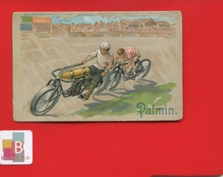 PALMIN Chromo Illustrateur  R Muth Velodrome Course Moto Velo Velomoteur Cyclomoteur - Autres