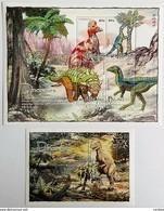 Palau 2004**Mi.2404-07 + Bl.188  Dinosaurs , MNH [15;54] - Vor- U. Frühgeschichte