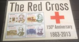Saint Vincent Grenadines Canouan  Nobel Red Cross Croix Rouge MNH - Nobelpreisträger