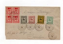 !!! NOUVELLE CALEDONIE, LETTRE DE NOUMEA POUR TOULON DU 9/4/1919 - Covers & Documents