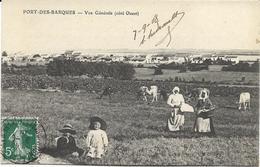 17 - PORT-DES-BARQUES - Vue Générale (côté Ouest) - Animée, 1908, BE. - France