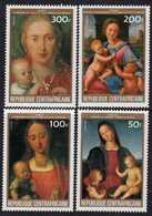 Centrafricaine  N° 616 / 19 XX Tableaux Oeuvres De Dürer Et Raphaël : La Série Des 4 Valeurs Sans Charnière, TB - Centrafricaine (République)