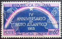 ITALIE                      N° 661                    OBLITERE - 1946-60: Afgestempeld
