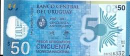 Uruguay - 50 Pesos 2017 - Série A - N° 007283332 - Neuf, Non Circulé - - Uruguay