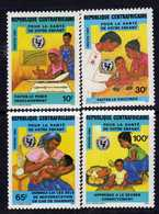 Centrafricaine  N° 636 / 39 XX Préservation De La Santé Des Enfants. La Série Des 4 Valeurs Sans Charnière, TB - Centrafricaine (République)