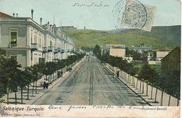 SALONIQUE - N° 203 - BOULEVARD HAMIDIE - Grecia