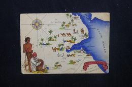 CÔTE DES SOMALIS- Carte Postale - Carte De La Côte Des Somalis - L 53891 - Djibouti