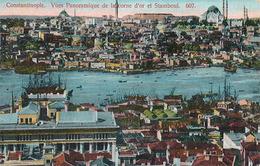 STAMBOUL - N° 607 - VUES PANORAMIQUE DE LA CORNE D'OR ET STAMBOUL - Turquie