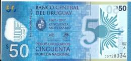 Uruguay - 50 Pesos 2017 - Série A - N° 00728334 - Neuf, Non Circulé - - Uruguay