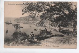 VILLEFRANCHE SUR MER (06) - LA RADE ET L'ESCADRE - Villefranche-sur-Mer