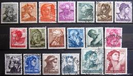 ITALIE                            N° 826/844                             NEUF  Et  OBLITERE - 1961-70: Usados