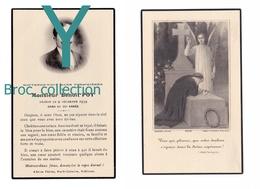 Saint-Etienne Ou Environs, Mémento De Benoît Poy, 9/12/1939, 54 Ans, Souvenir Mortuaire à Localiser, Décès, Deuil - Images Religieuses
