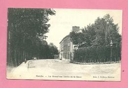 C.P. Marche-en-Famenne  =   La  Grand'Rue  Sortie  De La GARE - Marche-en-Famenne