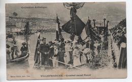 VILLEFRANCHE SUR MER (06) - COMBAT NAVAL FLEURI - Villefranche-sur-Mer