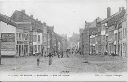 BASTOGNE ..-- RARE . Rues Du SABLON Et Du VIVIER . 1906 Vers ARLON . Voir Verso . - Bastogne