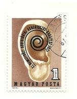 1972 - Ungheria 2272 Congresso Di Audiologia - Medicina