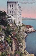Monaco Le Musee Oceographique Et Les Jardins Du Rocher - Sonstige