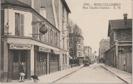 BOIS - COLOMBES - Rue Charles - Chefson - Café Tabac. Camion Ancien. - Autres Communes