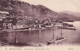 Monaco Monte Carlos Vue Generale - Sonstige