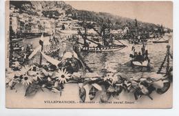 VILLEFRANCHE SUR MER (06) - SOUVENIR - COMBAT NAVAL FLEURI - Villefranche-sur-Mer