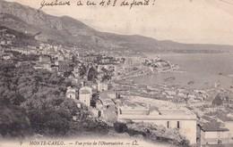 Monaco Monte Carlo Vue Prise De L Observatoire - Sonstige