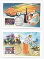 CM DE NOUVELLE-CALEDONIE DE 2010 - SECURITE ROUTIERE - Cartes-maximum