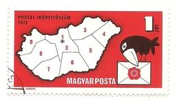 1973 - Ungheria 2288 Uccello - Uccelli Canterini Ed Arboricoli